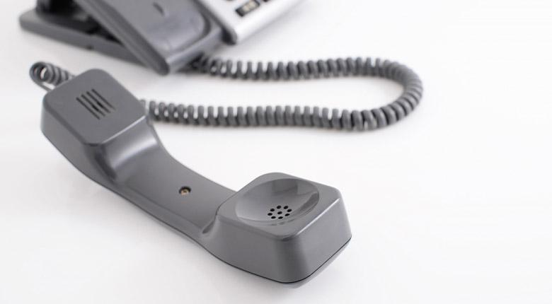 まずはお電話