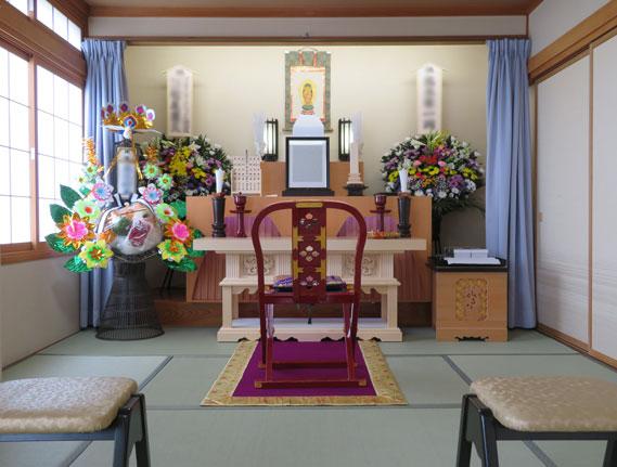 コスモール・コイデ家族葬プラン和室使用