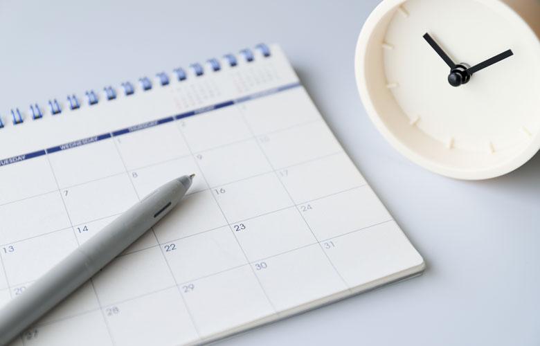 カレンダー・ペン・時計